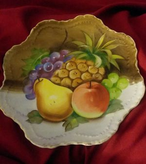 Lefton China Decorative Fruit Plate for Sale in Gilmer, TX