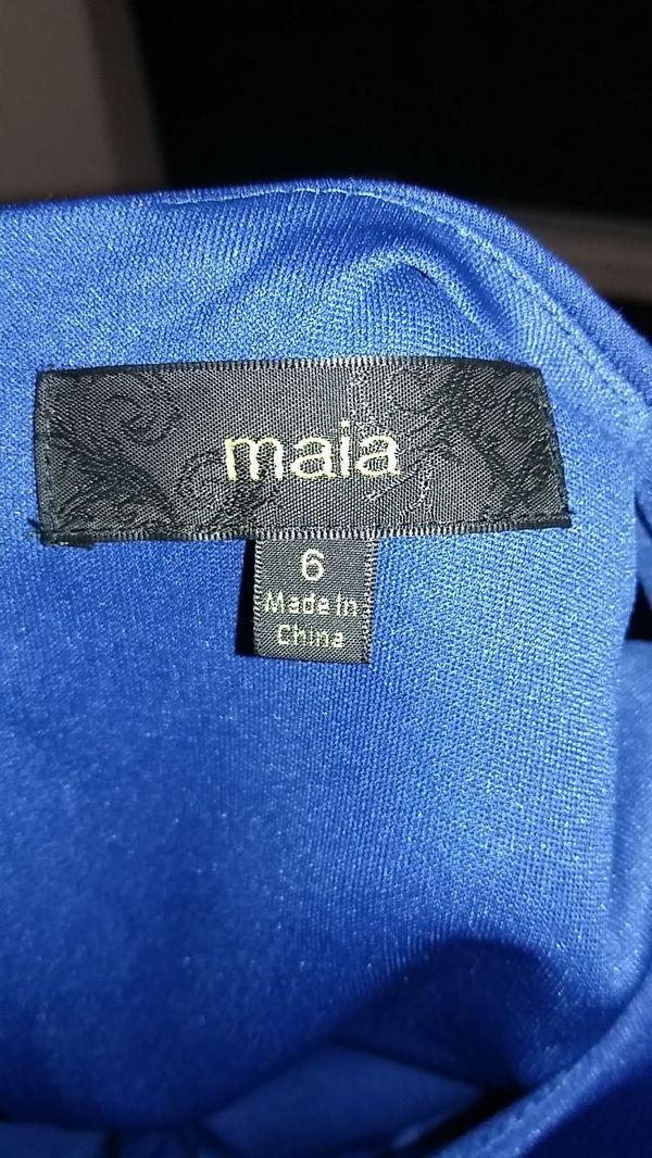 (PENDING PICK UP) Free Maia size 6 blue dress