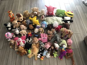 Over 50 Stuffed Animals for Sale in FL, US