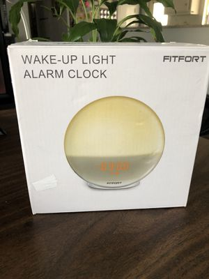 Wake up light alarm clock new for Sale in Rancho Cucamonga, CA