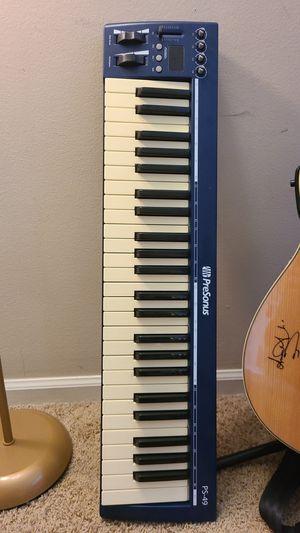Midi Keyboard - PreSonus PS-49 for Sale in Naperville, IL