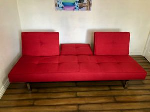 Designer Red Sofa/Couch for Sale in San Diego, CA