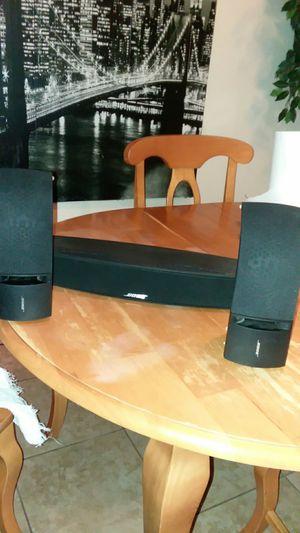 BOSE 3 speakers set. $100. OBO for Sale in Palmdale, CA
