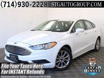 2017 Ford Fusion for Sale in Garden Grove,  CA