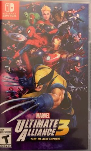 Nintendo Switch Marvel Ultimate Alliance 3 for Sale in Port Orchard, WA