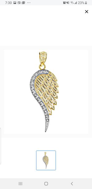 14k Gold Pendant Angel Wing for Sale in Aurora, IL