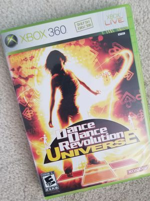 Dance Dance Revolution Universe (Xbox 360, mat included) for Sale in Vallejo, CA
