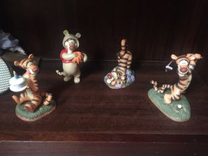 DISNEY TIGGER FIGURINES from Winnie Pooh and Friends for Sale in Watson, IN