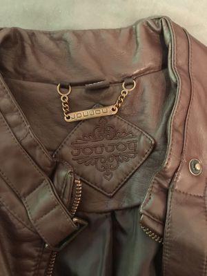 JouJou Brown Vegan Leather Jacket for Sale in Louisville, KY