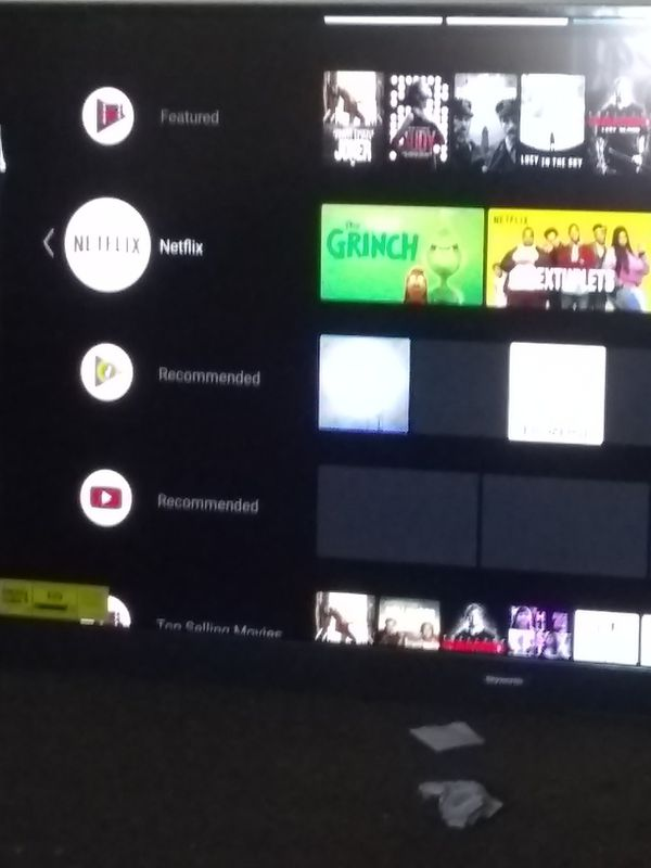 ANDROID SMART TV , SKYWORTH 55 iNCH TV