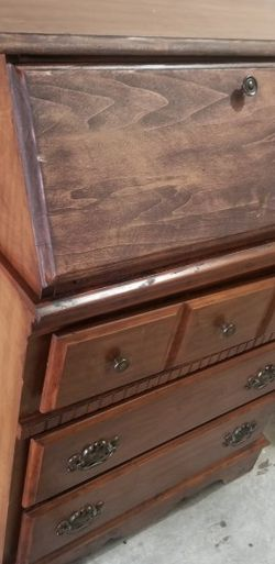 Antique wooden Secretary Desk for Sale in Bell,  CA