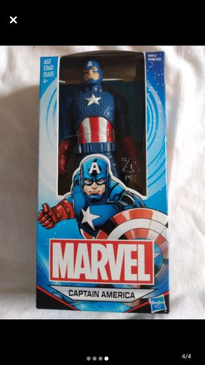 Pop! Captain america - 573 and captain america action figure for Sale in Louisville, KY