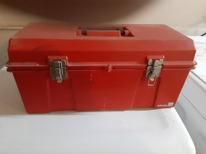 Vintage plastic tool box for Sale in West Covina, CA