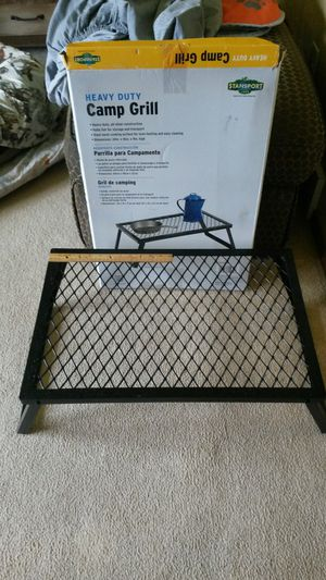 Heavy duty Camp Grill, never used for Sale in Green Bay, WI