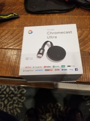 Chromecast ultra 4k with built in ethernet port for Sale in Washington, DC