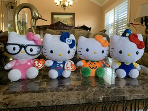 Hello kitty stuffed animals for Sale in Anaheim, CA
