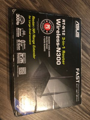 Asus Wireless 3 in 1 router for Sale in Richardson, TX