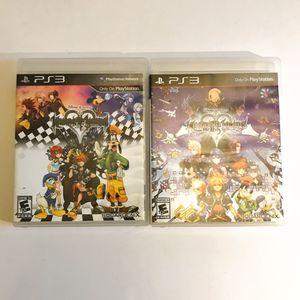 Kingdom Hearts 1.5 & 2.5 for PS3 for Sale in Norwalk, CA
