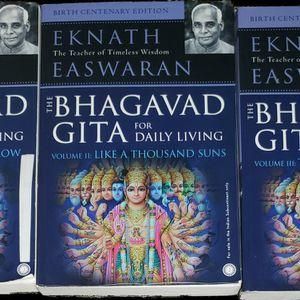 The Bahagavad Gita, Commentary by Eknath Easwaran for Sale in Brainerd, MN