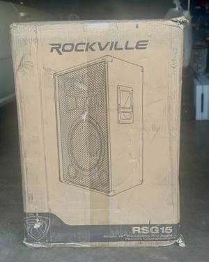 Professional Speakers ! Rockville RSG 15 for Sale in Stockton, CA
