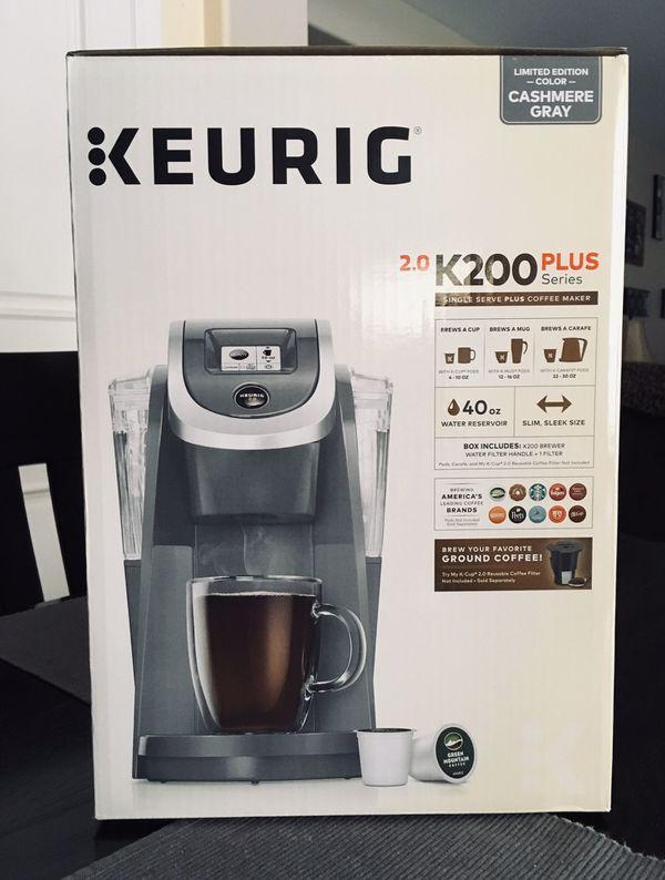 KEURIG- K200 Plus