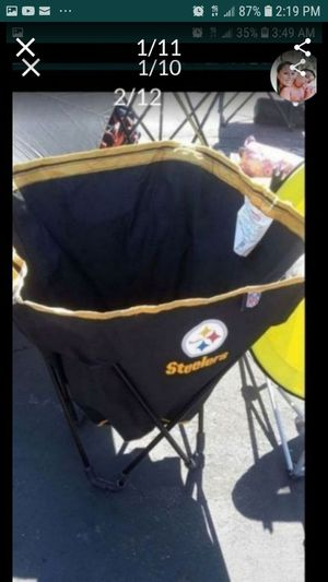 """X-mas """"PLEASE ONLY CONTACT ME IF U WANT TO BUY THE ITEM IMMEDIATELY """"Steeler End Zone """"Flexi Basket"""" Hamper/ Storage case VERY """"RARE"""" ITEM SEE PICS for Sale in Whittier, CA"""
