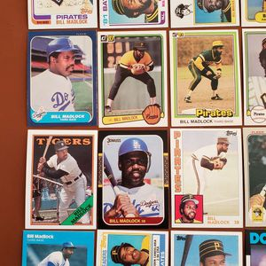 Baseball Cards - Bill Madlock for Sale in Noblesville, IN