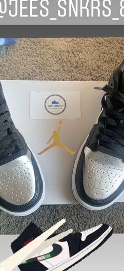 "Jordan 1 Low ""Silver Toe"" for Sale in Moreno Valley,  CA"
