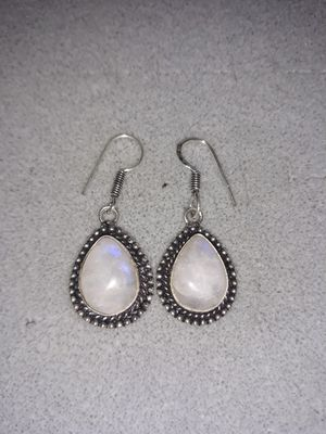 Beautiful Moonstone earrings for Sale in Denton, TX