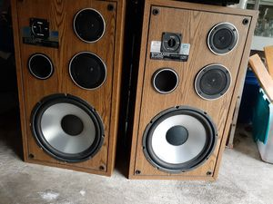 Vintage Dynamic Audio Pro Poly Series 1901 125 watt Power Rating Pro Speakers for Sale in Tigard, OR