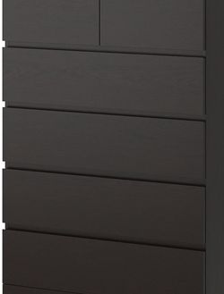 """IKEA 6-drawer Chest, black-brown, 32 1/2 X 48 3/8"""" for Sale in Torrance,  CA"""
