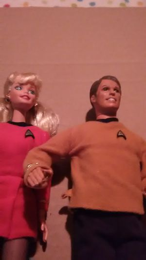 Star Trek Barbies No Box for Sale in Mystic Islands, NJ