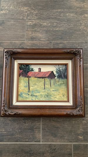 """Original Eckel oil painting and frame. 9""""x12"""" for Sale in Chandler, AZ"""