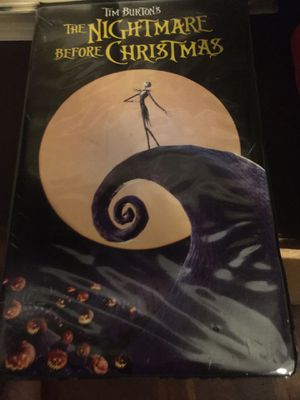 Disney touchstone vhs the nightmare before Christmas for Sale in Los Angeles, CA