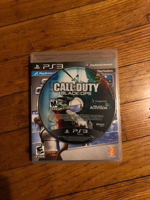 2 Games Call of Duty Black Ops for PlayStation 3 and F.E.AR. 2 for PS3 for Sale in Linden, NJ