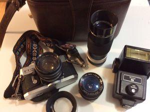 Vintage Petri 35MM Camera & lenses for Sale in Virginia Beach, VA