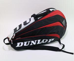 Dunlop Sport Biomimetic Black Red White 9 Racket Tennis Bag Backpack for Sale in Alpharetta, GA