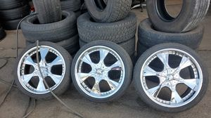 4 wheels in tires for Sale in North Chesterfield, VA