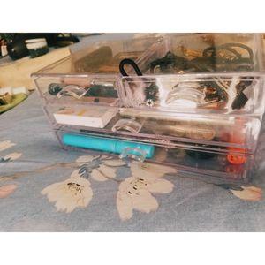 Plastic organizer w/ four drawers for Sale in BVL, FL