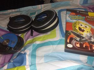22 Gamecube games with two Original Disc sleeve cases for Sale in Port Arthur, TX