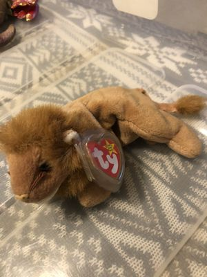 "TY Beanie Babies. ""Roary"" the Lion for Sale in Columbus, OH"