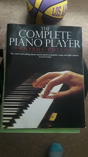 The complete piano player omnibus edition by: Kenneth Baker for Sale in Antioch, CA