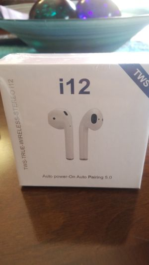 Airpods ,bluetooth airpods style earbuds smart touch control headset headphone for Sale in Miami, FL