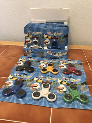 439 individual/display cased fidget spinners, $150 takes all! for Sale in Port Charlotte, FL