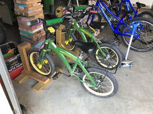 "TOMY John Deere 16"" child bicycle - no training wheels for Sale in Broadlands, VA"