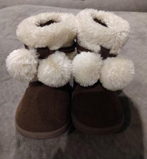 Garanimals baby girl boots, size 3 for Sale in New Bern, NC