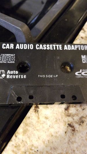 Car audio cassettes adaptor for Sale in Dearborn Heights, MI