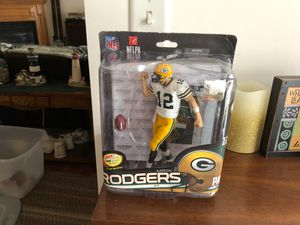 McFarlane Toys Aaron Rodgers Green Bay Packers Action Figure New Damaged for Sale in Lehighton, PA