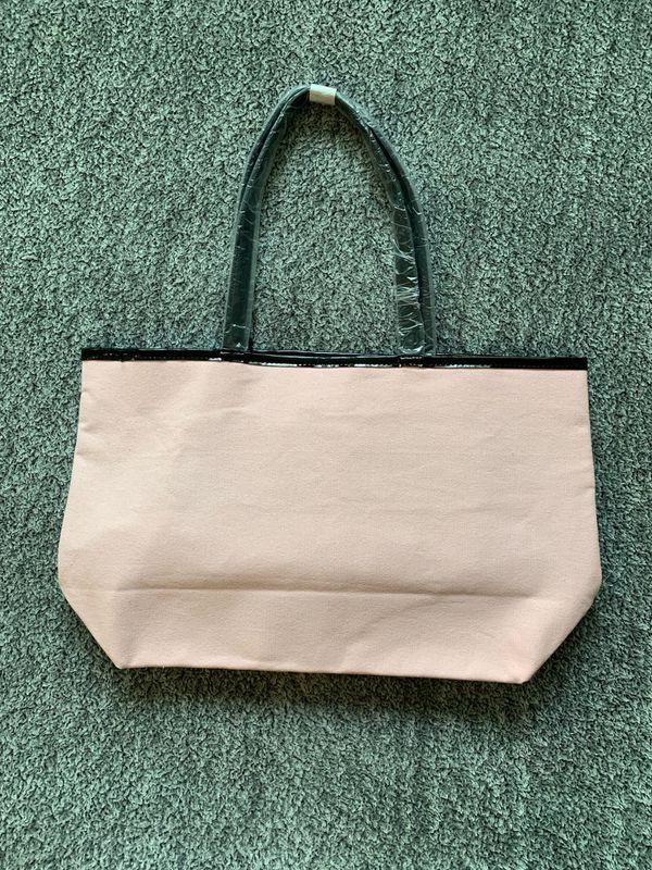 Brand New w/ Tags Victoria's Secret Tote Light Pink Bag