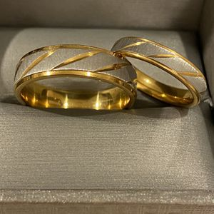 18K Gold plated Wedding Matching Ring Set - Code SOBH10 for Sale in Dallas, TX